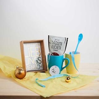 Geschenkideen aus der Region: Tassenkuchen