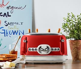 Besondere Geschenkideen aus der Region: Toaster für 4 Scheiben