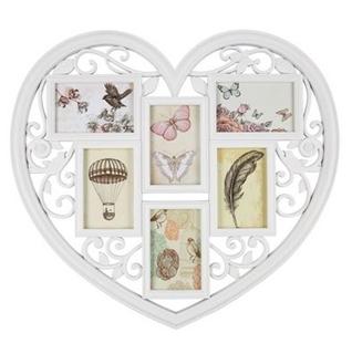 Besondere Geschenkideen in Ihrer Nähe: 6er Herz-Bilderrahmen