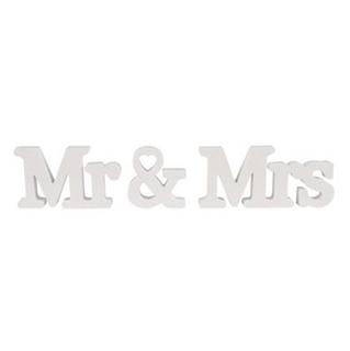Besondere Geschenkideen in Ihrer Nähe: Deko-Buchstaben Mr & Mrs