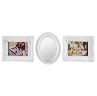 Besondere Geschenkideen in Ihrer Nähe: Dekoratives Set aus Bilderrahmen und Spiegel