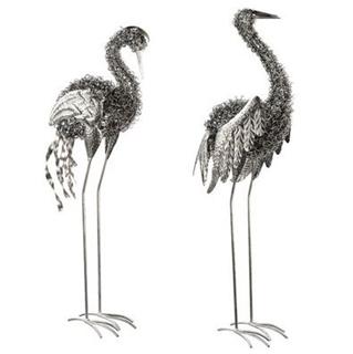 Besondere Geschenkideen in Ihrer Nähe: Gartenfigur Kranich aus Metall