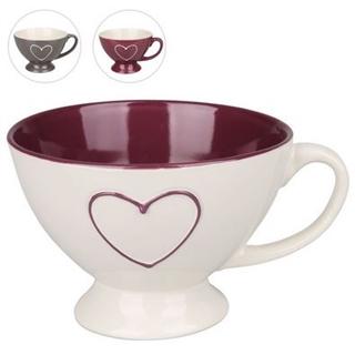 Besondere Geschenkideen in Ihrer Nähe: Herz-Tasse mit Standfuß