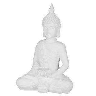 Besondere Geschenkideen in Ihrer Nähe: Sitzende Deko-Buddhafigur