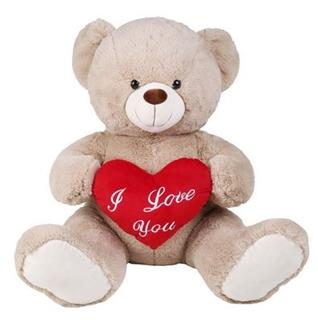Besondere Geschenkideen in Ihrer Nähe: Sitzender XXL-Bär mit Herz 76 cm