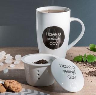 Besondere Geschenkideen in Ihrer Nähe: Teetasse mit Sieb