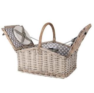 Besondere Geschenkideen in Ihrer Nähe: XXL Picknickkorb mit Zubehör