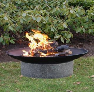 Besondere Geschenkideen in Ihrer Nähe: Feuerschale 'Granito', 59cm