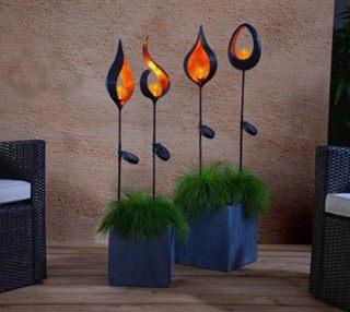 Besondere Geschenkideen in Ihrer Nähe: Solarfackel