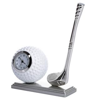 Geschenkideen aus der Region: Vintage Quarzuhr Golfschläger + Ball