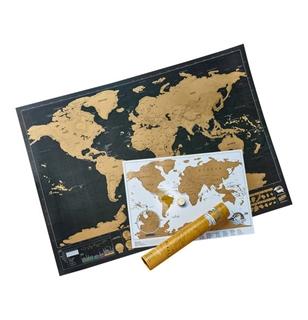 Besondere Geschenkideen in Ihrer Nähe: Weltkarte Scratch Map Deluxe