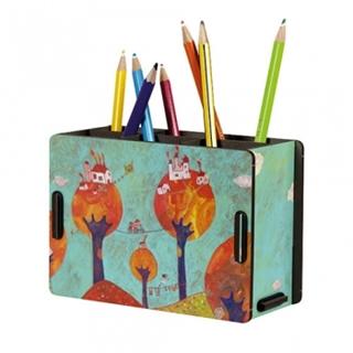 Besondere Geschenkideen in Ihrer Nähe: Stiftebox Anne Marie Braune Design