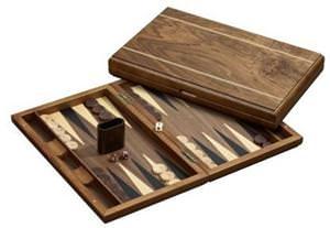 Besonderes Geschenk für Männer und Frauen: Hochwertige Backgammon Spiel