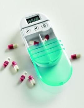Außergewöhnliches Geschenk für Männer und Frauen: Hochwertige Tablettenbox