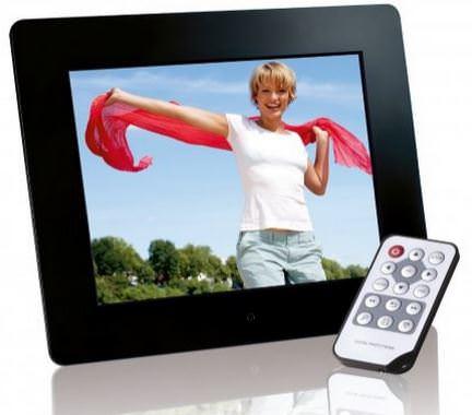 Besonderes Geschenk für Männer und Frauen: Hochwertige Intenso Photobase Digitaler Bilderrahmen