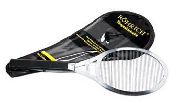 Außergewöhnliches Geschenk für Männer: Hochwertige Hochwertige Elektrische Fliegenklatsche Röhrich