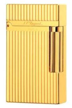 Exklusives Geschenk für Männer: Hochwertige S.T.Dupont Feuerzeug L2 vergoldet