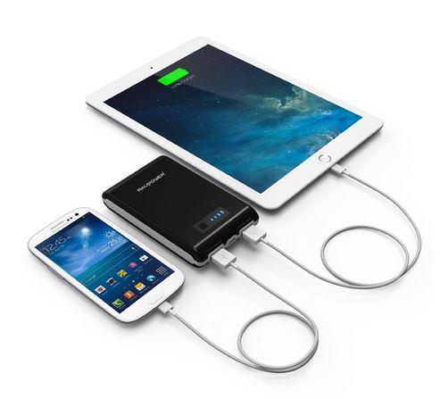 Außergewöhnliches Geschenk für Männer und Frauen: Hochwertige Externer Akku Pack USB Ladegerät für