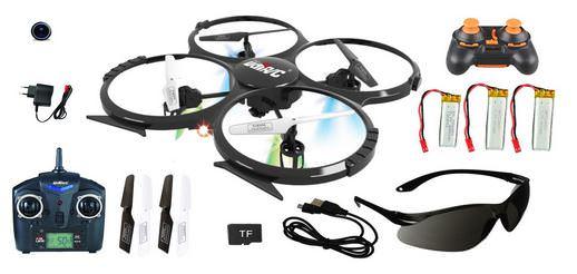 Hochwertiges Geschenk für Männer: Hochwertige XXL Quadrocopter mit Kamera und Fernbedienung