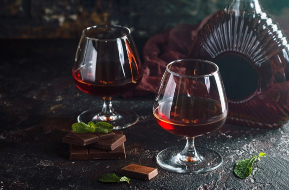 Besondere Geschenkideen aus Maintal: Hochwertigen Cognac