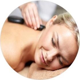 Gutschein für eine Hot-Stone-Massage