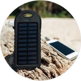 Hochwertige Solar-Powerbank