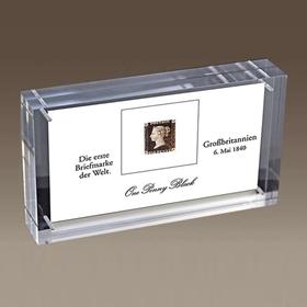 Erste Briefmarke der Welt als Geschenk