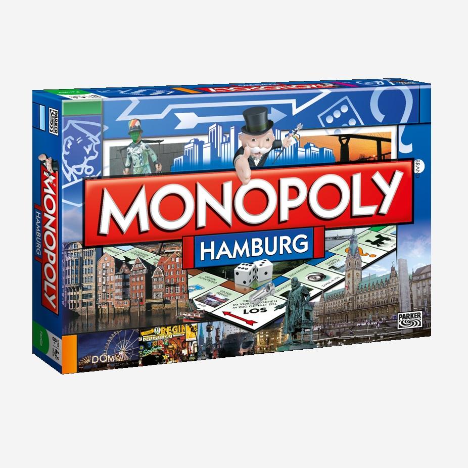 Monopoly-Stadtedition als Geschenkidee