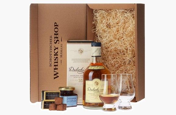 Hochwertiges Geschenk für Männer und Frauen: Whisky-Set für Genießer